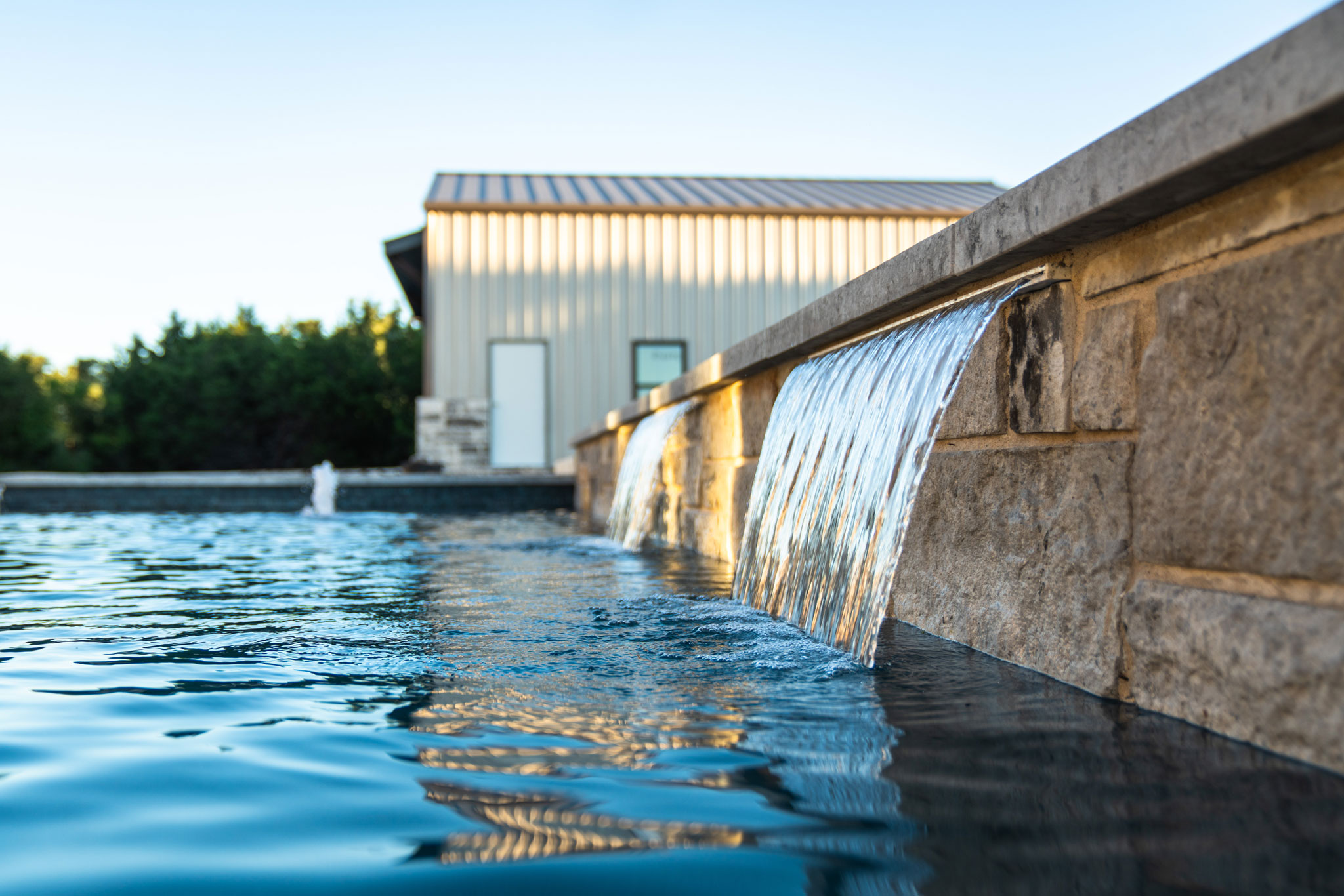 marble falls poolscapes and custom spa